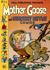 Cover Thumbnail for Four Color (Dell, 1942 series) #41 - Mother Goose and Nursery Rhyme Comics