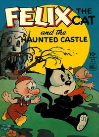 Cover Thumbnail for Four Color (Dell, 1942 series) #46 - Felix the Cat and the Haunted Castle