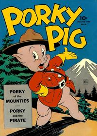 Cover Thumbnail for Four Color (Dell, 1942 series) #48 - Porky Pig