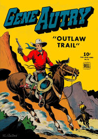 Cover Thumbnail for Four Color (Dell, 1942 series) #83 - Gene Autry in Outlaw Trail