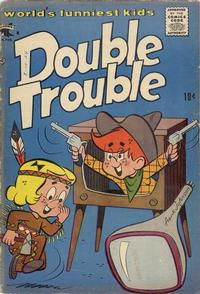 Cover Thumbnail for Double Trouble (St. John, 1957 series) #2
