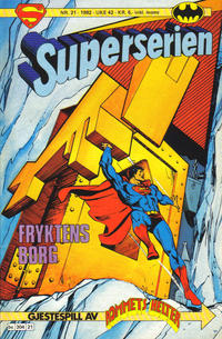 Cover Thumbnail for Superserien (Semic, 1982 series) #21/1982