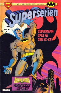 Cover Thumbnail for Superserien (Semic, 1982 series) #4/1983