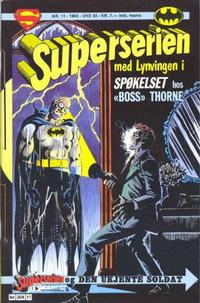 Cover Thumbnail for Superserien (Semic, 1982 series) #11/1983