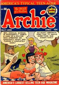 Cover Thumbnail for Archie Comics (Archie, 1942 series) #68