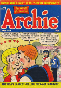 Cover Thumbnail for Archie Comics (Archie, 1942 series) #72