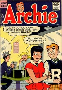 Cover Thumbnail for Archie Comics (Archie, 1942 series) #84