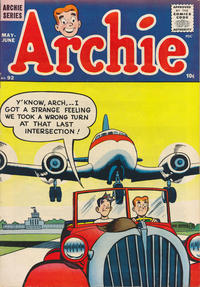 Cover Thumbnail for Archie Comics (Archie, 1942 series) #92