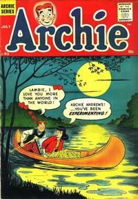 Cover Thumbnail for Archie Comics (Archie, 1942 series) #93