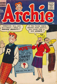 Cover Thumbnail for Archie Comics (Archie, 1942 series) #98