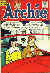 Cover Thumbnail for Archie Comics (Archie, 1942 series) #99