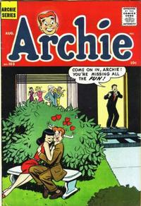 Cover Thumbnail for Archie (Archie, 1959 series) #103