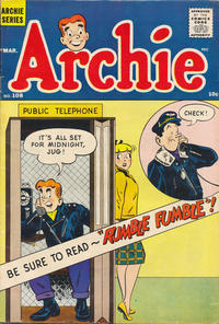 Cover Thumbnail for Archie (Archie, 1959 series) #108