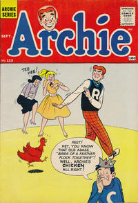 Cover Thumbnail for Archie (Archie, 1959 series) #113