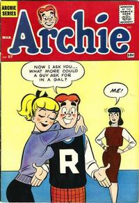 Cover Thumbnail for Archie (Archie, 1959 series) #117