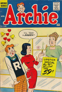 Cover Thumbnail for Archie (Archie, 1959 series) #118