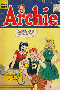 Cover Thumbnail for Archie (Archie, 1959 series) #122