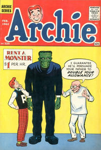 Cover Thumbnail for Archie (Archie, 1959 series) #125