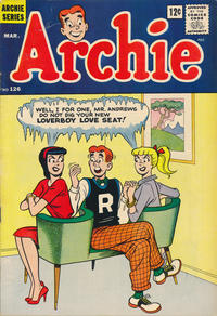Cover Thumbnail for Archie (Archie, 1959 series) #126