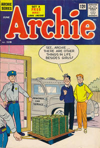 Cover Thumbnail for Archie (Archie, 1959 series) #128