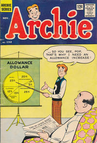 Cover Thumbnail for Archie (Archie, 1959 series) #132