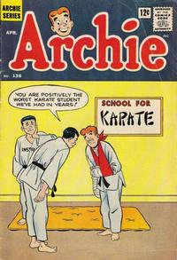 Cover Thumbnail for Archie (Archie, 1959 series) #136