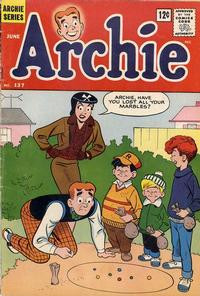 Cover Thumbnail for Archie (Archie, 1959 series) #137