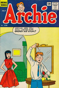Cover Thumbnail for Archie (Archie, 1959 series) #138