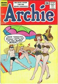 Cover Thumbnail for Archie (Archie, 1959 series) #139