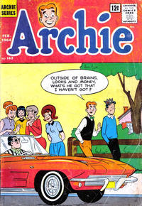 Cover Thumbnail for Archie (Archie, 1959 series) #143