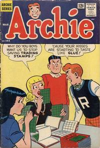 Cover Thumbnail for Archie (Archie, 1959 series) #144