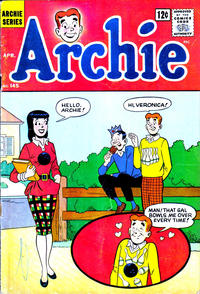 Cover Thumbnail for Archie (Archie, 1959 series) #145