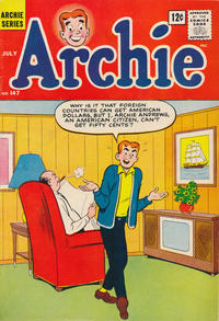 Cover Thumbnail for Archie (Archie, 1959 series) #147