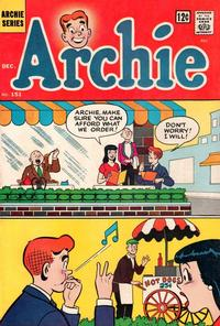 Cover Thumbnail for Archie (Archie, 1959 series) #151
