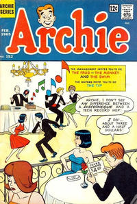 Cover Thumbnail for Archie (Archie, 1959 series) #152