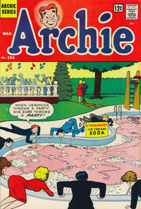 Cover Thumbnail for Archie (Archie, 1959 series) #153