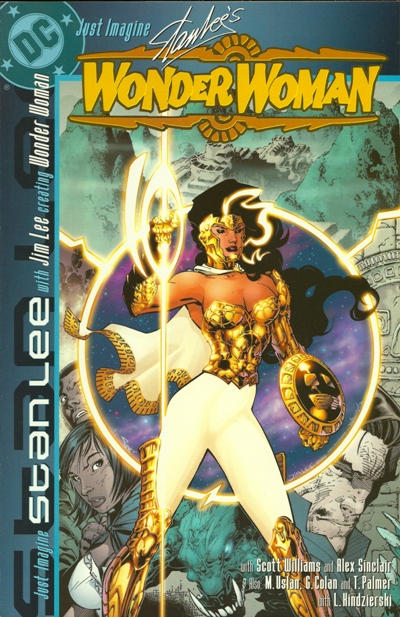 Cover for Just Imagine Stan Lee with Jim Lee Creating Wonder Woman (DC, 2001 series)
