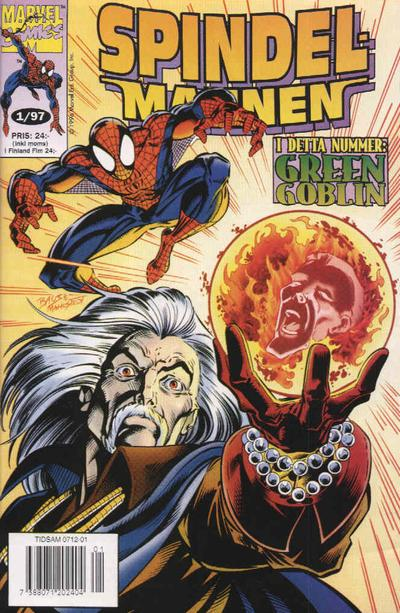 Cover for Spindelmannen (Semic, 1997 series) #1/1997