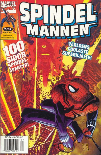 Cover for Spindelmannen (Semic, 1997 series) #7/1997