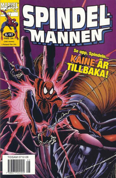 Cover for Spindelmannen (Semic, 1997 series) #8/1997