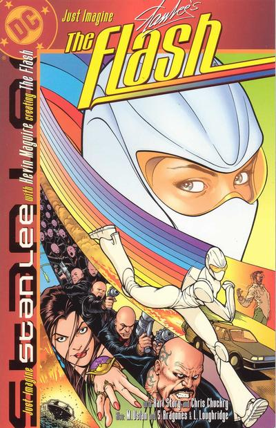 Cover for Just Imagine Stan Lee With Kevin Maguire Creating the Flash (DC, 2002 series) #[nn]