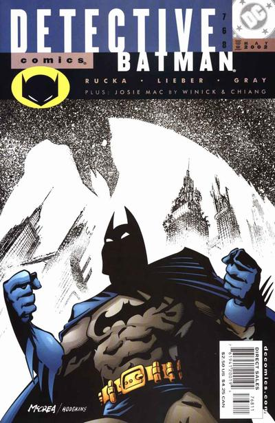 Cover for Detective Comics (DC, 1937 series) #768