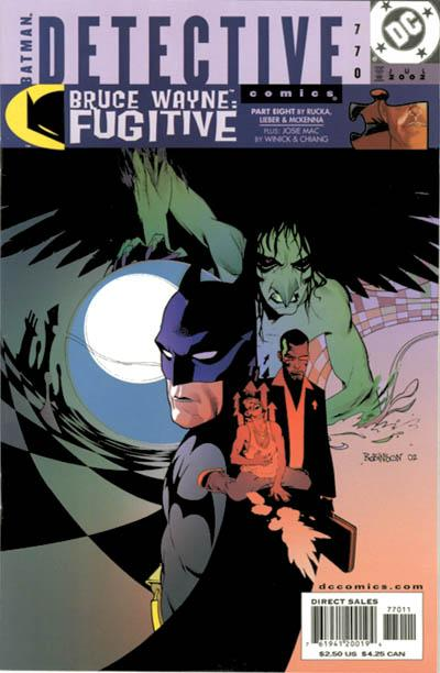 Cover for Detective Comics (DC, 1937 series) #770
