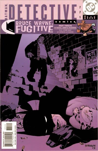 Cover for Detective Comics (DC, 1937 series) #771