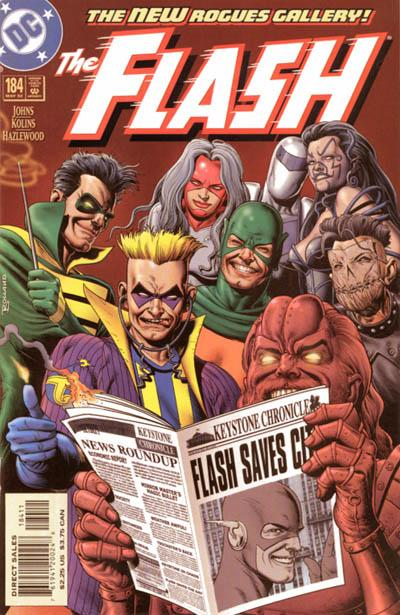 Cover for Flash (DC, 1987 series) #184