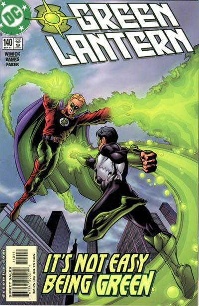 Cover for Green Lantern (DC, 1990 series) #140