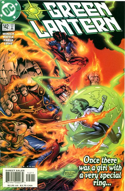 Cover for Green Lantern (DC, 1990 series) #142