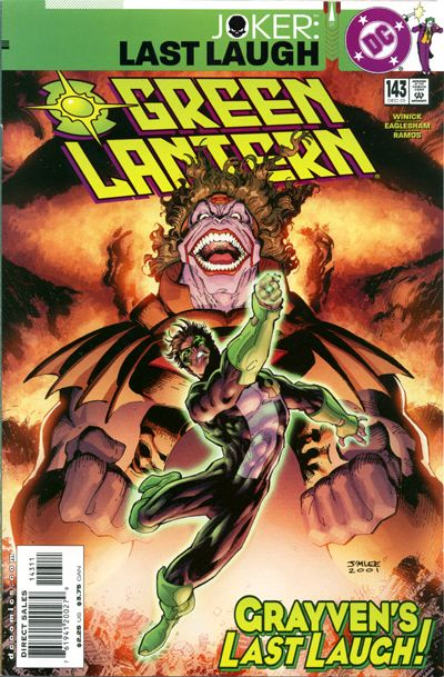 Cover for Green Lantern (DC, 1990 series) #143 [Direct Sales]