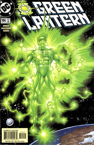 Cover for Green Lantern (DC, 1990 series) #144