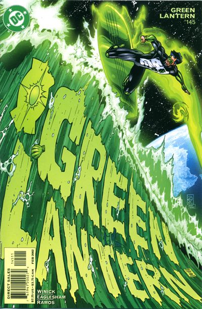 Cover for Green Lantern (DC, 1990 series) #145
